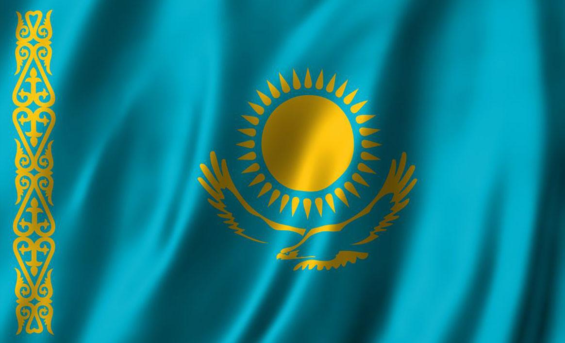 Kazakhstan-Flags